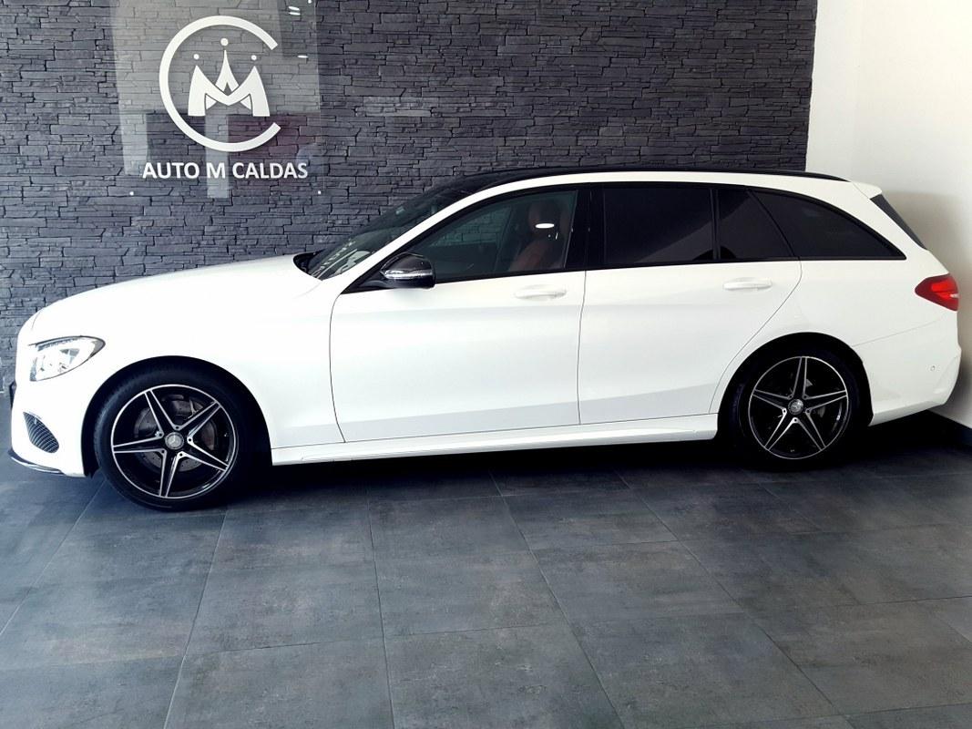 Mercedes benz c 200 bluetec amg line auto m caldas for How do you spell mercedes benz